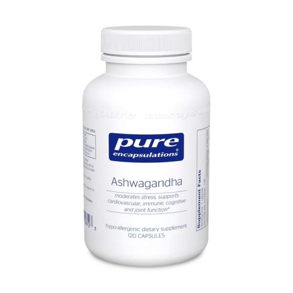 Ashwagandha 120s Pure encapsulations UK