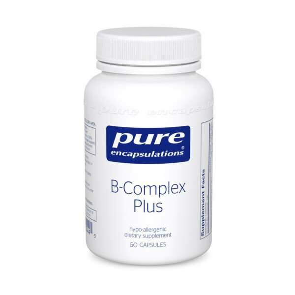 B-Complex Plus 60s Pure encapsulations UK