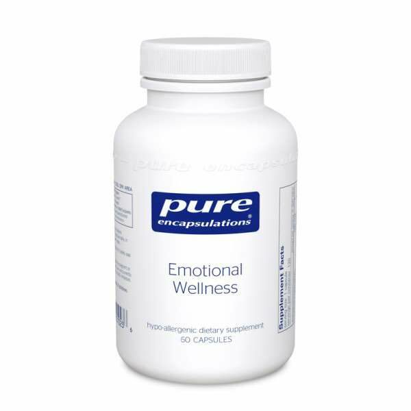 Emotional Wellness 60s Pure encapsulations UK