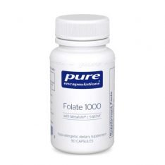 Folate 1000 90s Pure encapsulations UK