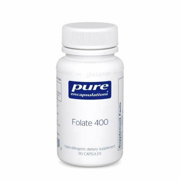 Folate 400 90s Pure encapsulations UK