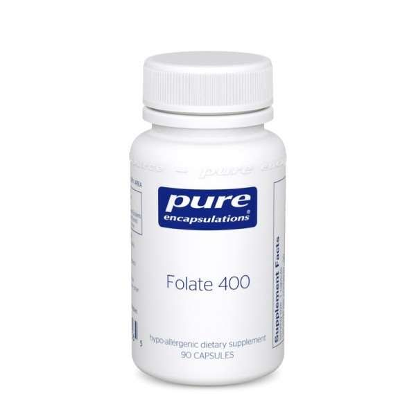 Folate 400 90s Pure encapsulations UK