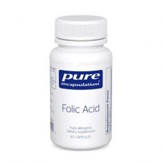 Folic Acid 60s Pure encapsulations UK