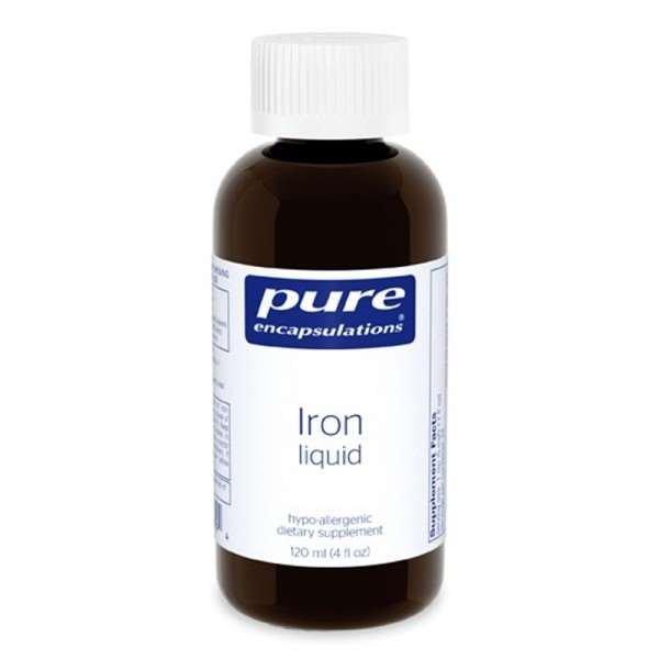 Iron liquid 120 ml Pure encapsulations UK