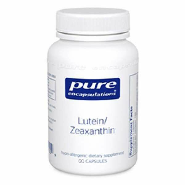 Lutein/Zeaxanthin 60s Pure encapsulations UK