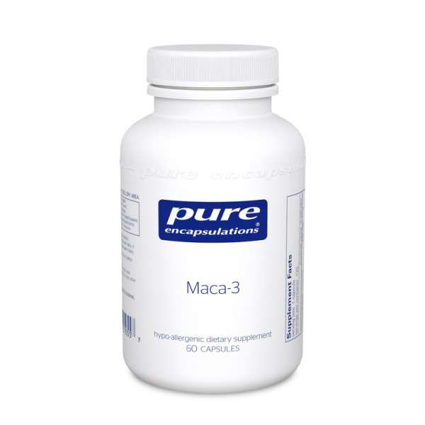 Maca-3 60s Pure encapsulations UK