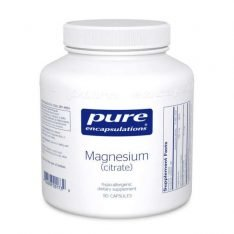 Magnesium (citrate) 90s Pure encapsulations UK