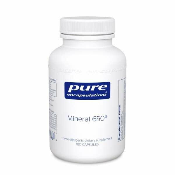 Mineral 650 - 180s Pure encapsulations UK