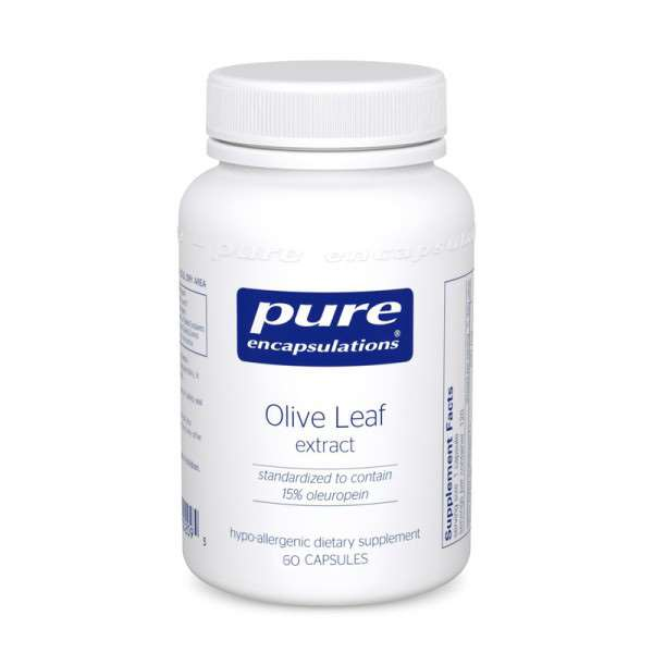 Olive Leaf 60sPure encapsulations UK