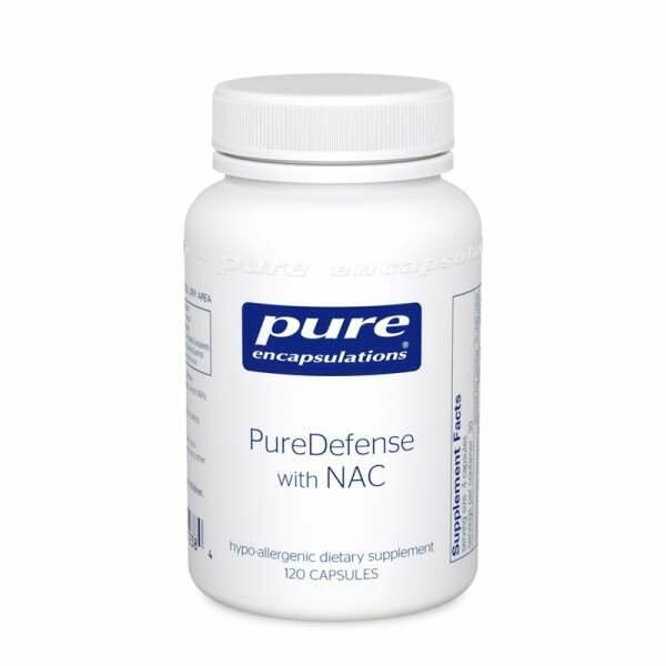 PureDefense w/NAC 120s Pure encapsulations UK