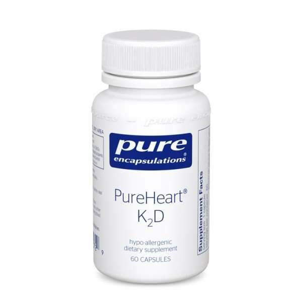 PureHeart® K2D 60s Pure encapsulations UK