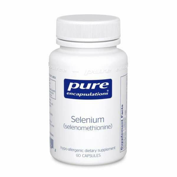 Selenium (selenomethionine) 60s Pure encapsulations UK