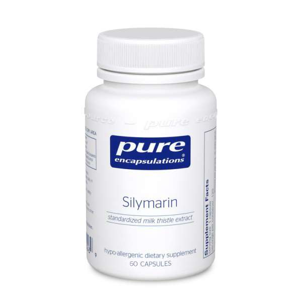 Silymarin 60s Pure encapsulations UK