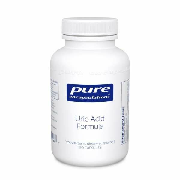 Uric Acid Formula 120s Pure encapsulations UK