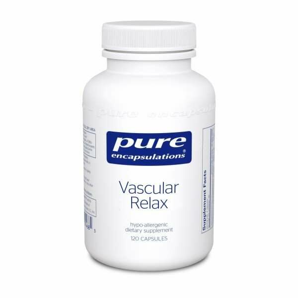 Vascular Relax 120s Pure encapsulations UK