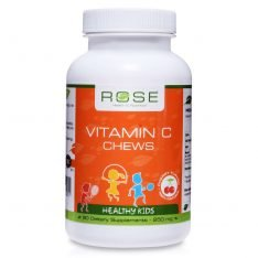 Vitamin C Chews rose supplements uk