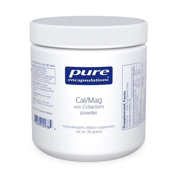 Cal/Mag w/ Cofactors powder pure encapsulations uk