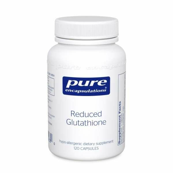 Reduced Glutathione 60s pure encapsulations uk