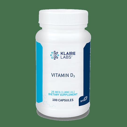 Vitamin D3 1000iu klaire labs uk