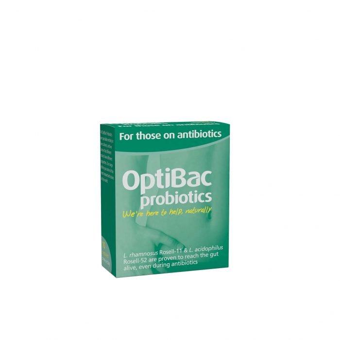 OptiBac For those on antibiotics 10s