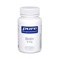 Biotin 8 Mg. 120s pure encapsulations uk