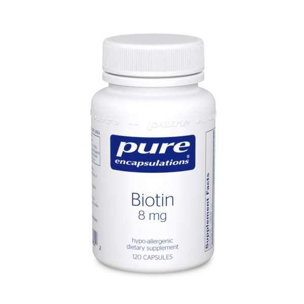 Biotin 8 Mg. 120s pure encapsulations uk