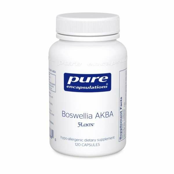 Boswellia AKBA 120s pure encapsulations uk