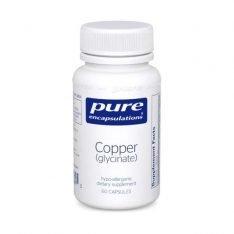 Copper (Glycinate) 60s pure encapsulations uk
