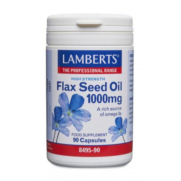 Flax Seed Oil 90c image