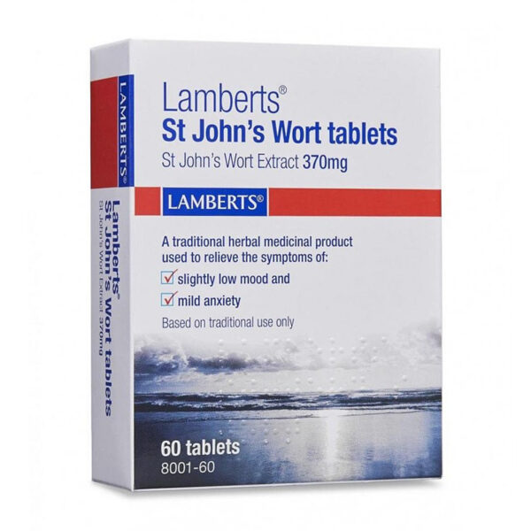 St John's Wort Tablets 60t image