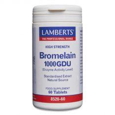 BROMELAIN 1000 GDU lamberts healthcare