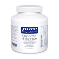 Cranberry/D-Mannose 180s pure encapsulations uk