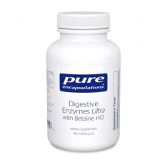 Digestive Enzymes Ultra with Betaine HCl 180s pure encapsulations uk