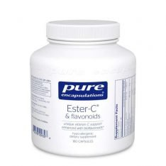 Ester-C & Flavonoids 180s pure encapsulations uk