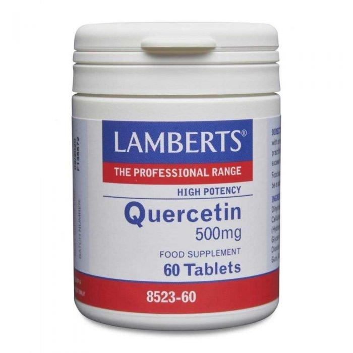 Quercetin 500mg lamberts healthcare
