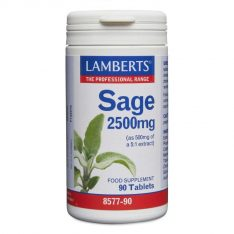 Sage 2500mg lamberts healthcare