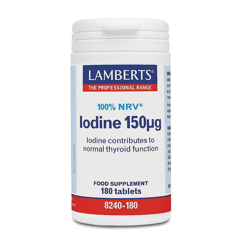 Lambert's Iodine 150μg