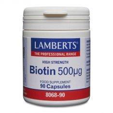 Biotin 500µg lamberts healthcare