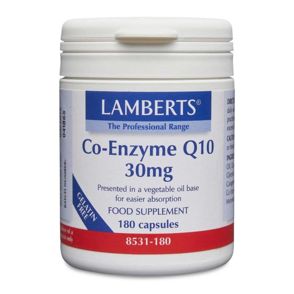 Co-Enzyme Q10 30mg 60s lamberts healthcare