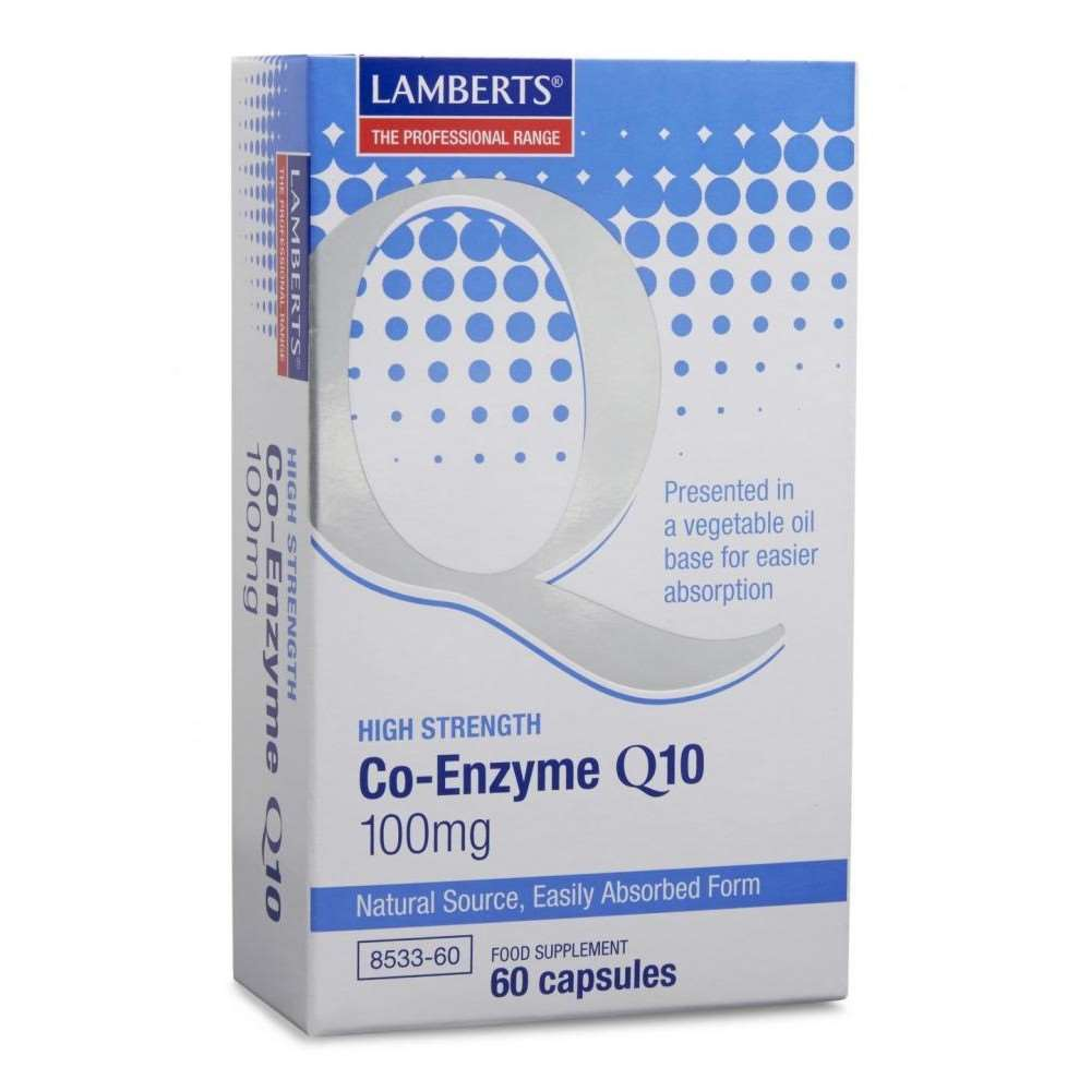 Co-Enzyme Q10 100mg lamberts healthcare