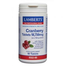 Cranberry Tablets 18,750mg lamberts healthcare uk