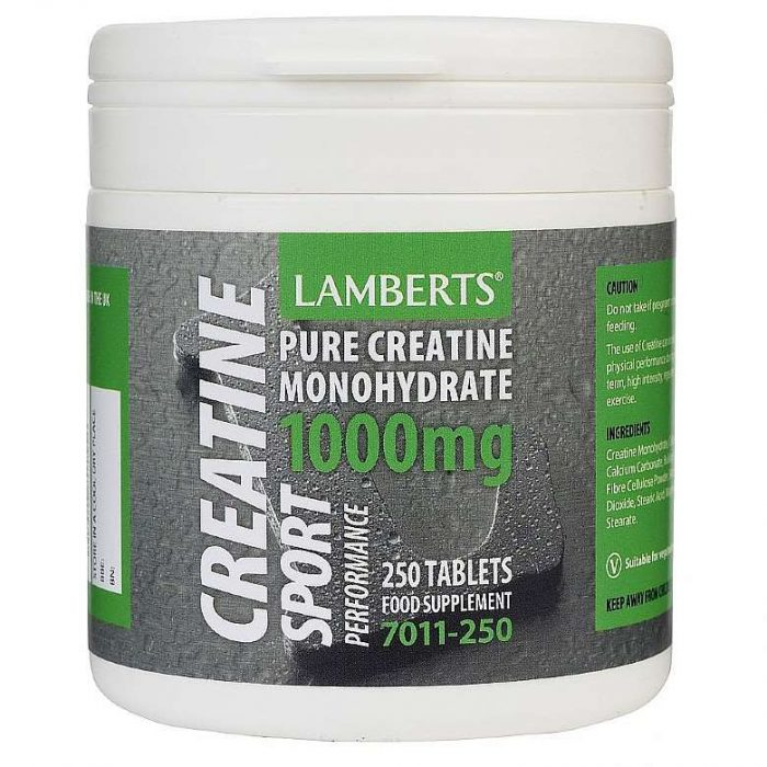 Creatine Tablets 1000mg lamberts healthcare uk
