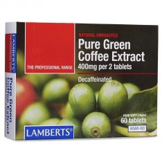 Pure Green Coffee Extract lamberts healthcare uk