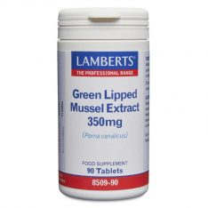 Green Lipped Mussel Extract 350mg tablets lamberts healthcare uk