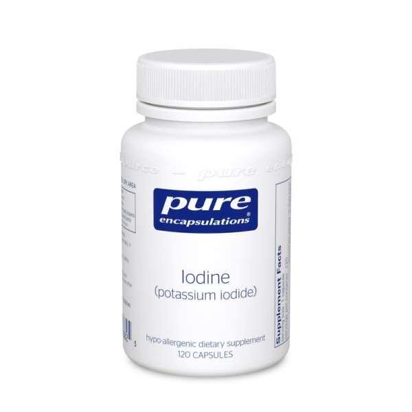 Iodine (potassium iodide) 120s pure encapsulations uk