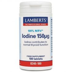 Iodine 150µg lamberts healthcare uk