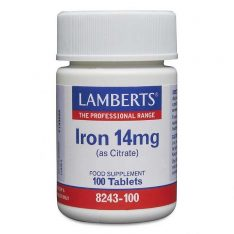 Iron 14mg lamberts healthcare uk