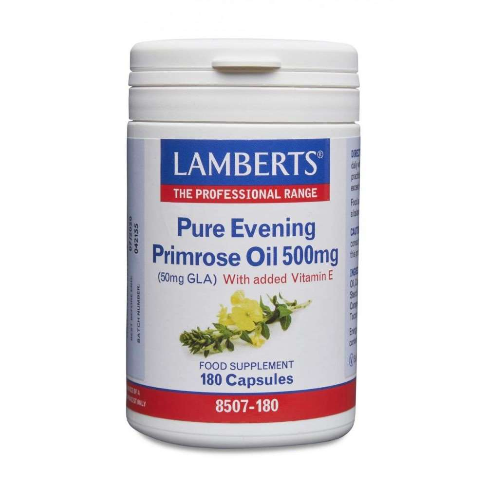 Pure Evening Primrose Oil 500mg lamberts healthcare uk