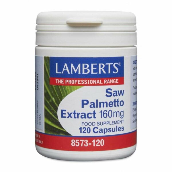 Saw Palmetto Extract 160mg lamberts healthcare uk