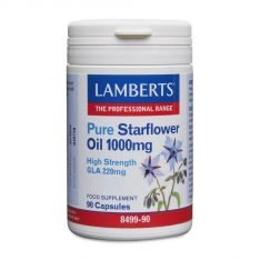 Pure Starflower Oil 1000mg lamberts healthcare uk